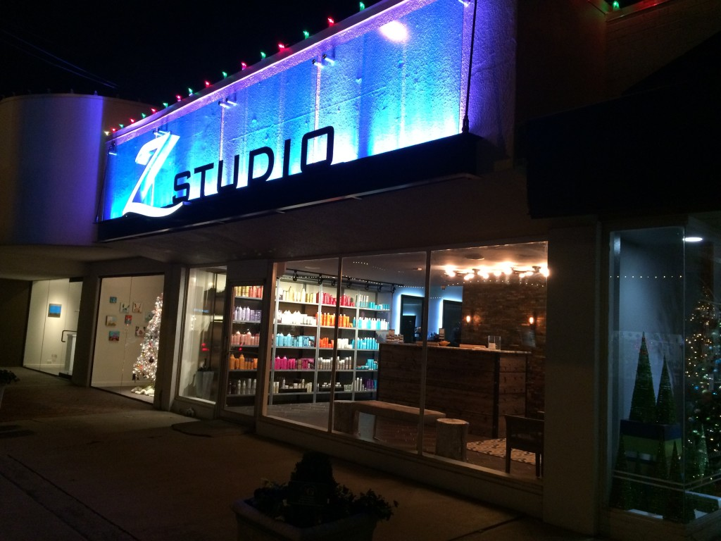 Storefront At Night