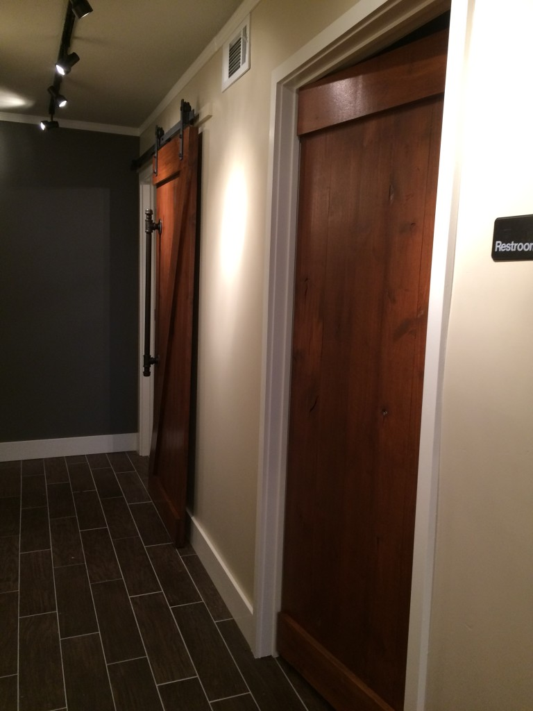 Doors to Bathroom & Office